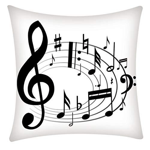QBQCBB Pillow Case Polyester Fiber Cushion Sofa Car Cushion Cover Home Decoration 45x45cm(J)