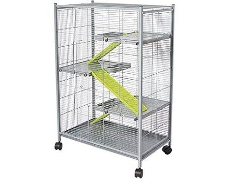 VOLTREGA 001493G Jaula para Roedor: Amazon.es: Productos para mascotas