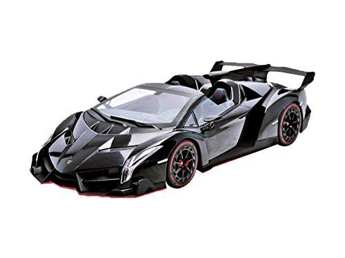 1/18 ランボルギーニ ヴェネーノ ロードスター(ブラック×レッドライン) 「OUSIAシリーズ」 KSC09502BKR