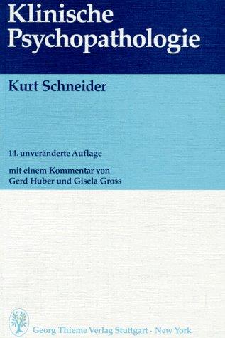 Klinische Psychopathologie.