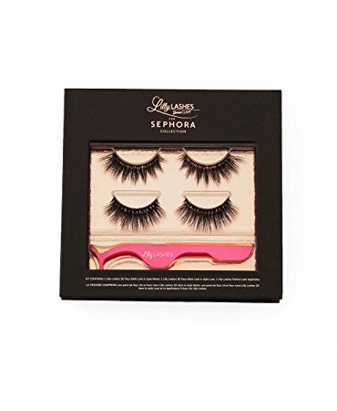 96f2b9046e4 Amazon.com : Lilly Ghalichi x Sephora Collection Perfect Pair Lash Kit.  Limited Edition : Beauty