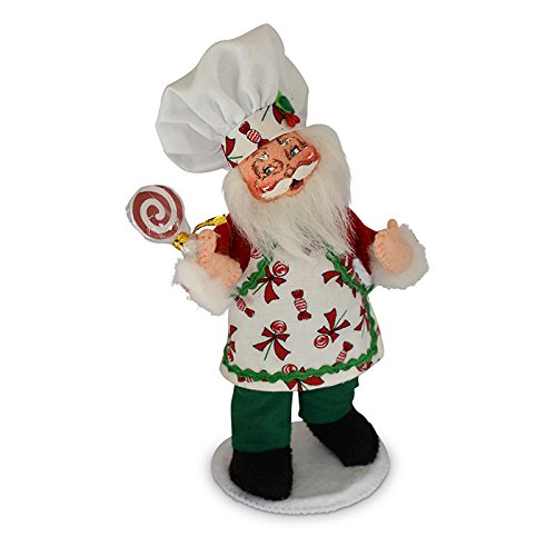 Annalee 6in Chef Santa