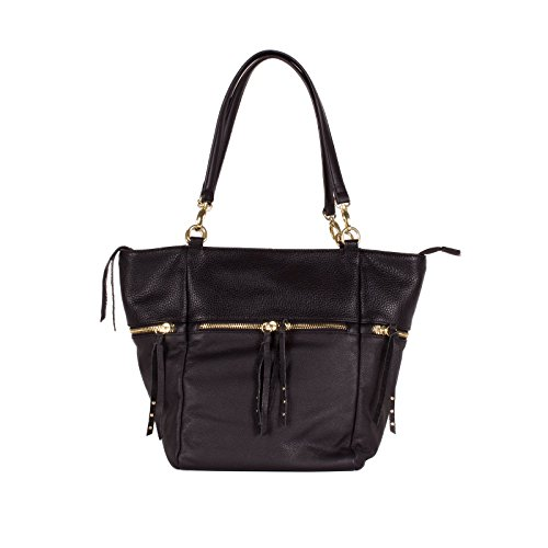 olivia-joy-liv-women-handbag-bloc-leather-handle-tote-shoulder-bag-black