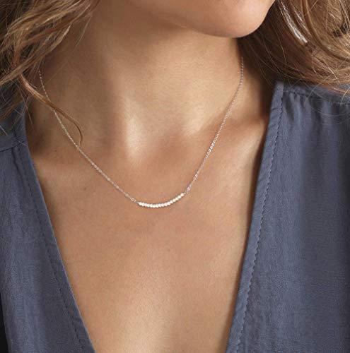 Necklace Handmade Sterling Freshwater Wedding product image
