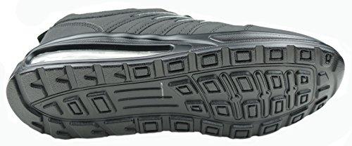 gibra - Zapatillas de running de sintético/textil para hombre negro