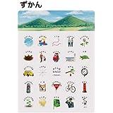 【楽天ランキング1位入賞】おさんぽBINGO(お散歩ビンゴ・おさんぽビンゴ・フィールドビンゴ) 【ブンケン】《おしゃれ/大人/かわいい/可愛い》 なつ