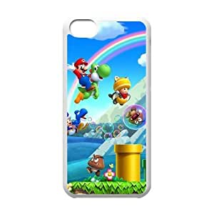 iphone5c phone cases White Super Mario Bros cell phone cases Beautiful gifts YWRD4665405