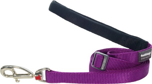 Image of Red Dingo Classic Dog Lead, Small, Purple
