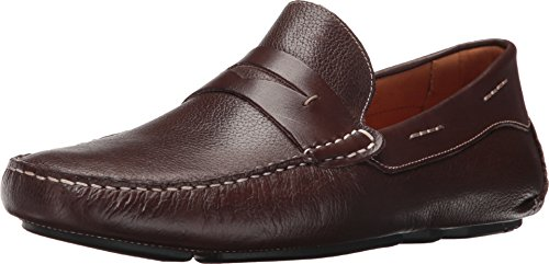 Massimo Matteo Mens Florencia Penny Driver Brown