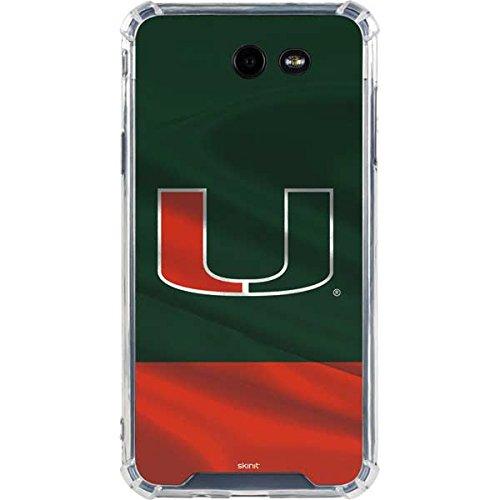 Skinit Miami Hurricanes Flag Galaxy J7 (2017) Clear Case - Skinit Clear Case - Transparent Galaxy J7 (2017) Cover