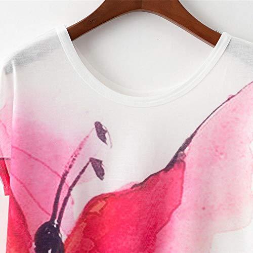 Schlussverkauf YEBIRAL Damen T Shirt Sommer Basic Casual