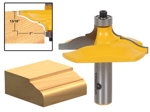 Yonico 13127 Molding and Edging Router Bit with Classical Ogee 1/2-Inch Shank (Classical Ogee Bits 1/2