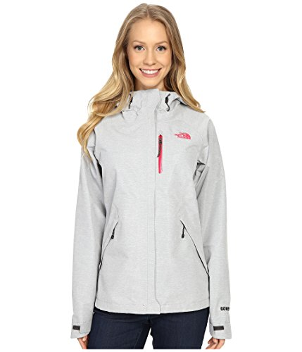 The North Face Womens Venture Jacket (Medium, High Rise Grey Heather)