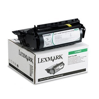 12a0825 High Yield Toner - Lexmark Products - Lexmark - 12A0825 High-Yield Toner, 23000 Page-Yield, Black - Sold As 1 Each - Makes quality prints. - Advanced formula that resists smudging, streaking, and fading. - Quick to ins
