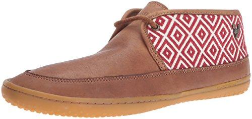 Vivobarefoot Women's Gia l Leather Walking Shoe, Chestnut, 39 EU/8.5 M US by Vivobarefoot