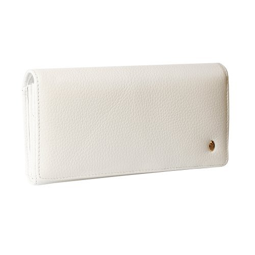 Summer 2015! Anthoni Crown ladies leather wallet, purse, soft, white