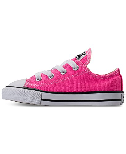 CONVERSE TODDLER ALL STAR LOW INF PINK POW SIZE 9](Toddler Converse Shoes Size 9)