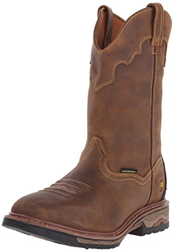 - Dan Post Men's Blayde Work Boot, Saddle Tan, 12 D US