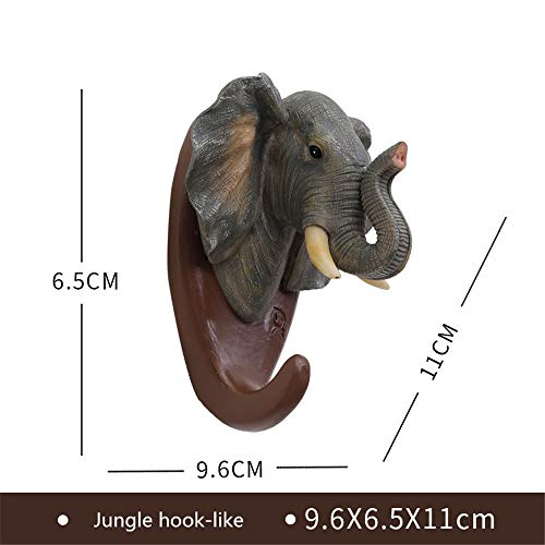 (Fhing Animal Shape Wall Hook, Coat Hook, Hat Hook, Home Coat Hook, House, Wall/Closet, Bathroom, Kitchen, Decoration, Gift)