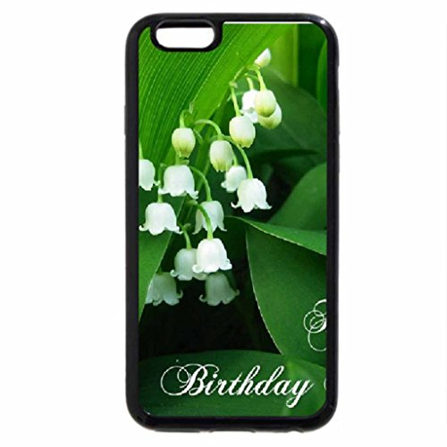 iPhone 6S / iPhone 6 Case (Black) Happy Birthday Katica CroZg