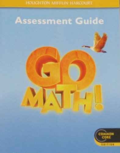 Go Math Grade 4 Assessment Guide 9780547586861 SlugBooks