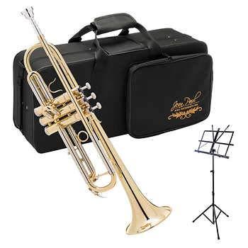 Jean Paul Trumpet Bundle with Carrying Case - TR-550CM