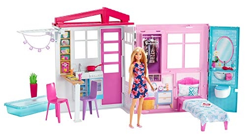 Barbie Doll, House, Furniture and Accessories [Amazon Exclusive]