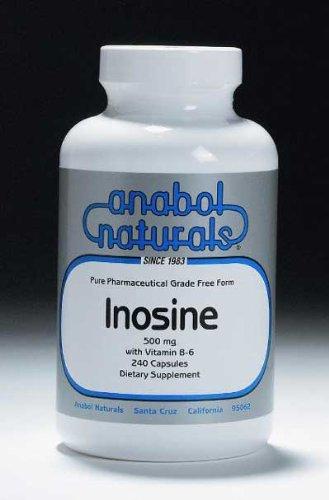 Anabol Naturals Inosine 960 Capsules 500 mg