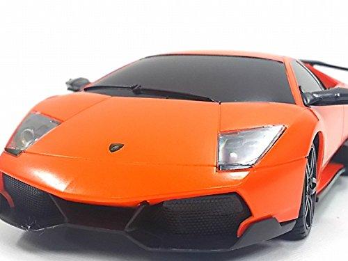 MZ◇ランボルギーニムルシエラゴLP670-4SV◇ライセンス正規認証車1/24ラジコンカー/オレンジ