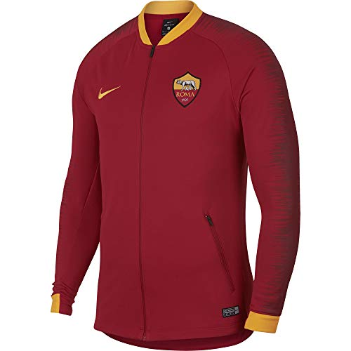 d7a2bbc1a252c Nike 2018-2019 AS Roma Anthem Jacket (Team Red)