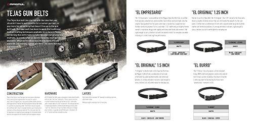 Magpul Tejas Gun Belt El Original 1.25 Inch