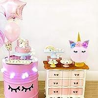 Unicorn Party Decorations-Unicorn Table Centerpieces Paper