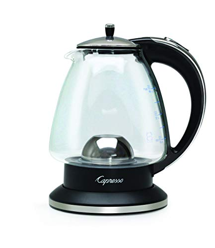 (Capresso 240.03 Water Kettle 48 oz Polished Chrome and Black)