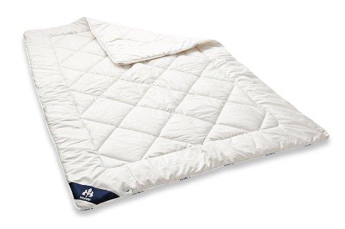 Badenia Bettcomfort 03691060140 Steppbett Irisette Merino wash Duo 135 x 200 cm weiß