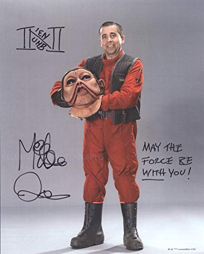 MIKE QUINN as Nien Nunb – Star Wars: The Force Awakens 8″x10″ GENUINE AUTOGRAPH