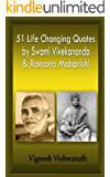 51 life changing quotes by swami vivekananda and ramana maharishi (bonus quotes by J Krishnamurthi). (English Edition)
