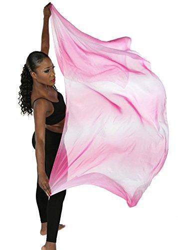 Belly Dance Organza Veil Ola Organze (FUSCHIA) -