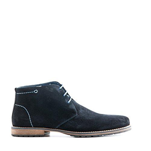 Travelin Liverpool Wildleder Chukka Boots   Schnürhalbschuhe Herren   Freizeitschuhe Hochzeitschuhe   Business Schuhe Anzugschuhe   Vielen Farben Dark Blue