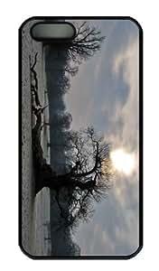 Case For Sam Sung Galaxy S5 Mini Cover - Customized Unique Design Old Tree Winter New Fashion PC Black Hard