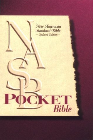 NASB Pocket Bible Thomas Nelson product image