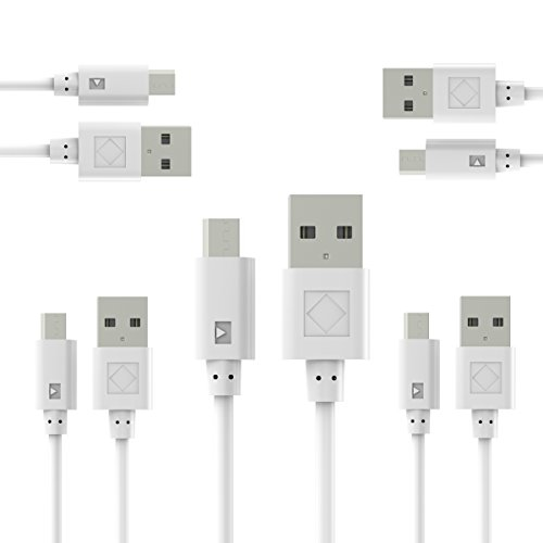 Micro USB Cable Android 2A, SMALLElectric USB to Micro USB Cables High Speed USB2.0 Sync and Charging Cables for Samsung, HTC, Motorola, Nokia, Kindle, MP3, Tablet and more DILIMI 002 Usb Usb Console