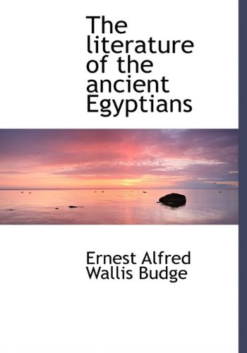 the-literature-of-the-ancient-egyptians