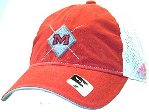 精巧な変動するマルコポーロNCAA Officially Licensed Ole Miss Rebelsステッチダイヤモンドレディース帽子キャップ蓋