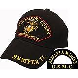 U.S. Marine Corps A Tradition Since 1775 Semper Fi Hat Black