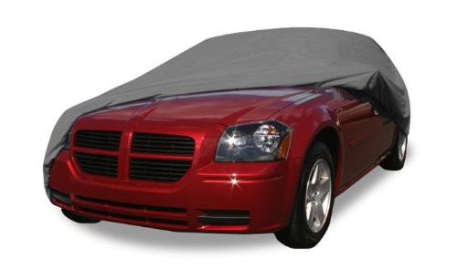 2001 Ford Focus Wagon - Budge Rain Barrier Station Wagon Cover Fits Station Wagons up to 184 inches, Waterproof SRB-1 - (Polypropylene with Waterproof Film, Gray)
