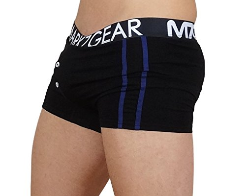 Mark7Gear - KELSON, Underwear/Loungewear Herren Pant in Night Black, mit JOCK-UP TECHNOLOGIE