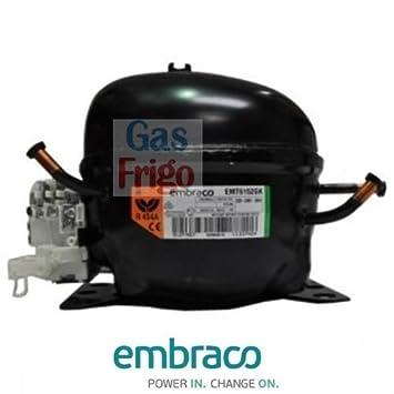 Compresor emt6144z Gas R134 a 1/5: Amazon.es: Bricolaje y herramientas