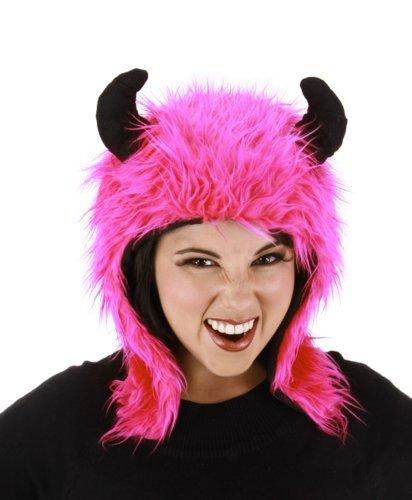 Elope Adult Minotaur Costume Laplander Hat, (Magenta Costume Xl)