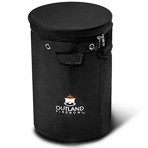 (Outland Firebowl UV and Weather Resistant 740 Propane Gas Tank Cover with Stable Tabletop Feature, Fits Standard 20 lb Tank Cylinder, Ventilated with Storage Pocket)