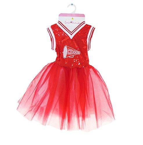 Great Pretenders Red Cheerleader Dress